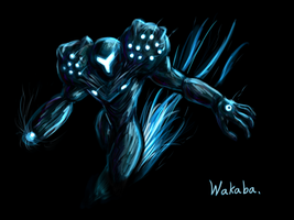 Dark Samus by Wakaba691