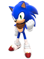 Another Sonic Boom Render by FinnAkira
