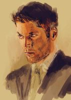 Dean Winchester Sketch by rflaum