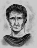 Julius Caesar by clouded-ambition