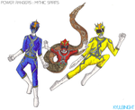 Power Rangers: Mythic Spirits by KyuubiNight