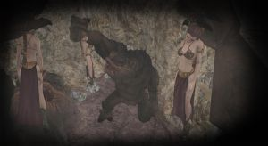 ''The Princess and the Rancor'' -1- by VoreQ