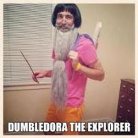 Dumbledore the explorer by Orochimarufanforlife