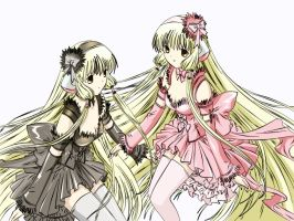 Chobits. by Dimitra25