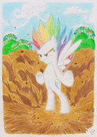 Rainbow Dash power up! by gonin2