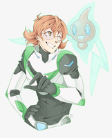 Pokemon Paladin Trainers: Pidge and Rotom by PRllNCE