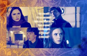Amy and Sherlock - Say You Will by abask5