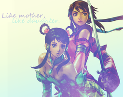Like mother, like daughter. by Levetra