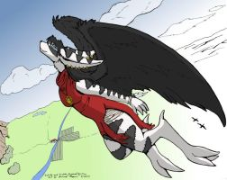 Fly High Sakido coloured by andwhyisit
