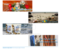 Bocados de Praia's Facebook Covers by sompy