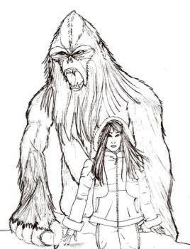 Andy and the Yeti by Selinelle