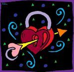 Arrow Through A Locked Heart by Laketree