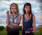 I know what you did the last summer by ismaComics