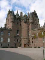Glamis Castle by ahdser