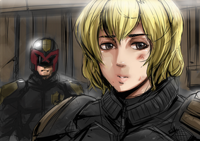 Judge Anderson by Exaxuxer