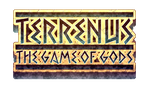 Logo - Terrenus, The Game of Gods by FontesMakua