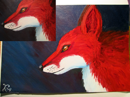 Red Fox by oOJurOo