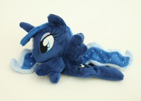 Luna pony beanie by Yukamina-Plushies