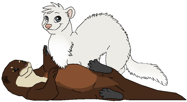 Hermione and the Ferret by J-Dove