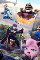 Super Smash Bros - Bad Sitation by Adyon
