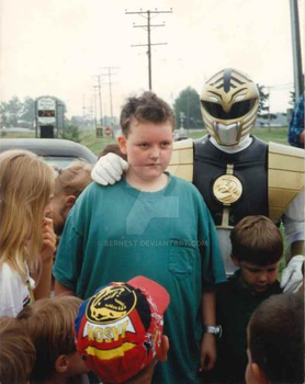 Me And The White Power Ranger by BERNEST