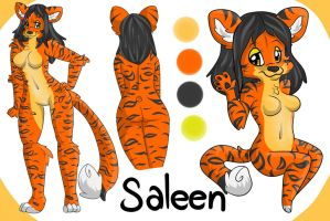 Ref Sheet Commission for skyworthy 1/3 by LaurenPuff