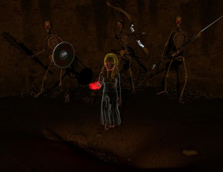 Casia Black at the Grave by aaduwall