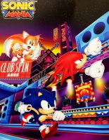 Sonic Mania Poster by sonicmechaomega999