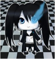 Black Rock Shooter by XNessNessX