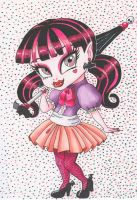 Chibi Draculaura by whisper-lily
