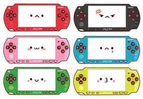 Rainbow PSP Family by Berri-Blossom
