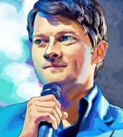 Misha Collins by dorandsugar