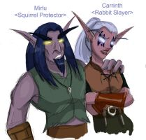 WoW: Night Elves by carrinth