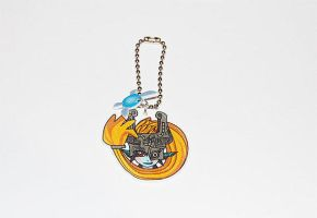 Zelda Hyrule Warriors Midna keychain by knil-maloon