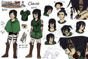 AoT OC-- Clause Abel by MonkeyDSophie