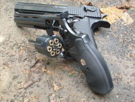 .357 Python with Desert Eagle by buggyr333