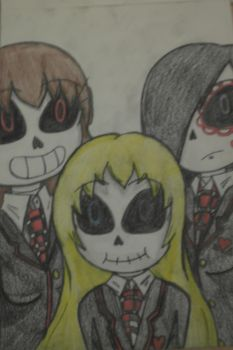 Introducing the Skeleton Trio by MapleMochi06