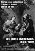 Luc And Jes: Spoiler Alert Meme by zomberinacontagion