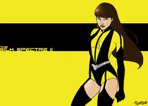 Silk Spectre II by silvertesh