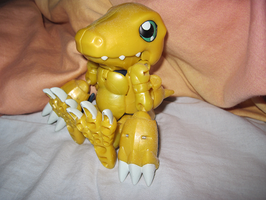 Agumon figure by PipecleanerFTW
