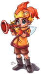 Trumpeter of Sunlight by SailorMoonAndSonicX