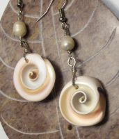 Shell Swirl earrings by jamberry-song