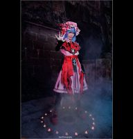 Touhou Project - Remilia Scarlet by vaxzone