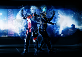 Liara and Samara: Asari Flux by ManticoreEX