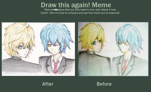 Draw this again Meme by Amika-theonenonly