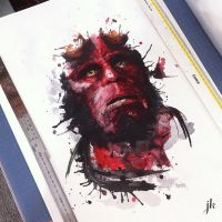 Hellboy. LTD now Available by CMYKyles