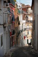 Lisbon Street by Garelito-Photos