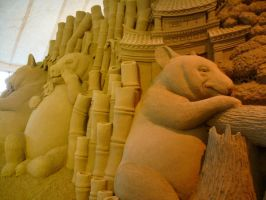 Sand sculpture 5 by Hoppiej