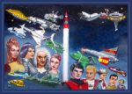 Gerry and Sylvia Anderson Tribute - cover art by DavidEMartin