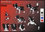 Hiru-Yoru Reference Sheet by InuHoshi